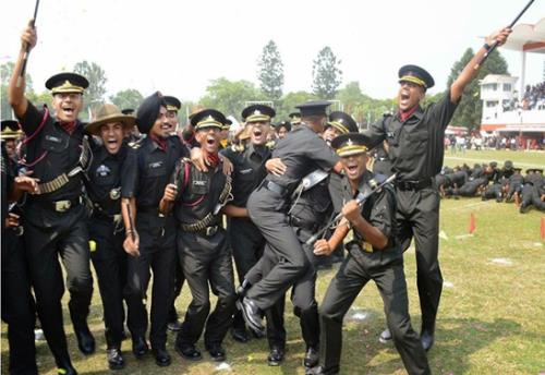 457 cadets pass out from Indian Military Academy in dehradun on 09 June,2018