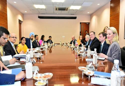 India, US agree on strengthening cooperation to combat terrorism on thursday 06 september 2018