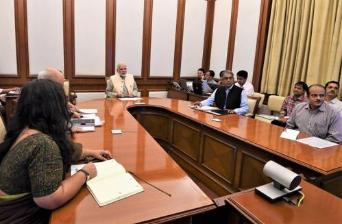 PM Modi reviews progress of Pradhan Mantri Jan Arogya Yojana & other important infrastructure projects on wednesday 29 August 2018